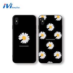 На Алиэкспресс купить стекло для смартфона ivilongtail phone cases for oppo r9 r11 r11s r17 a83 a59 a9 a7 a5 a3 k1 k3 k5 daisy flower tempered glass phone protective case