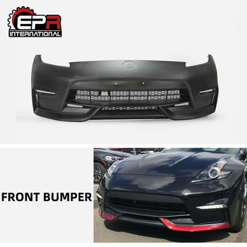 For Nissan 370Z Z34 NIS Style Glass Fiber Rear Bumper Body Kit Auto Tuning Part For Z34 370Z Fiberglass Bumper (09 onwards)
