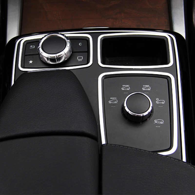 Auto Center Console Trim telaio Per Mercedes Benz ML320 350 2012 GLE W166 coupe c292 350d GL450 x166 GLS amg accessori