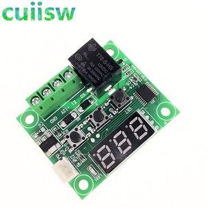 Image 4 - 10pcs W1209  50 100C DC 12V digital temperature controllear thermostat temperature control thermostat switch plate W1209