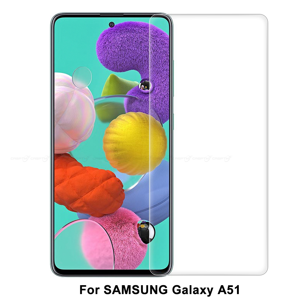 9H Anti-Shock Protective Glass For Samsung Galaxy A51 A50 S A70 A71 Full Screen Protector Tempered Glass For Samsung A71 A51 A50