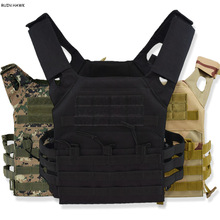 Vest Carrier Tactical-Vest Molle-Plate Protective Paintball Jpc Military Airsoft Hunting