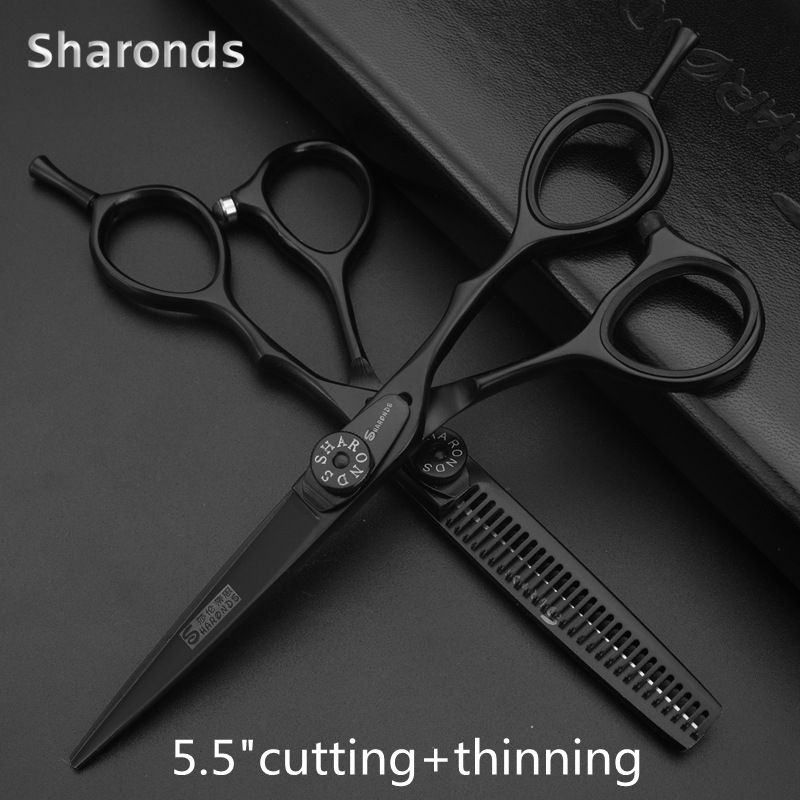 Sharonds New Professional Hairdressing Scissors Haircut Scissors Set Hairdresser High Quality Beauty Salon 5.5 \6.0 Inches