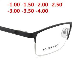 Image 3 - Ultraleicht TR90 Fertig Myopie Gläser Frauen Männer Retro Oval Student kurzsichtig Brille Dioptrien 0,5 1,0  1,5 2,0 Zu 4.0NX