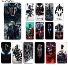 MaiYaCa Marvel HERO VENOM DIY Luxury High-end สำหรับ Samsung S10 E S9 PLUS S6 EDGE PLUS s7edge S8plus S10 PLUS S5(China)