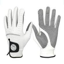 Sports Golf Gloves Men's Left Right Hand Soft Breathable Professional Sheepskin With Granules Golf Gloves Golf Accessories Tool все цены
