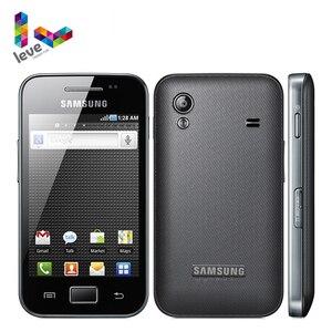 Разблокированный Samsung Galaxy Ace S5830I GPS 5MP камера Bluetooth, 3G, Wi-Fi оригинальный отремонтированный мобильный телефон