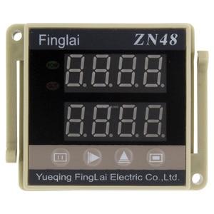 Цифровой Реле времени серии ZN48, счетчик переменного тока 220 В 380 В постоянного тока 24 В 12 В