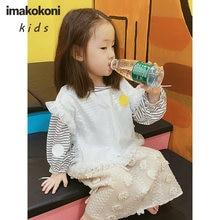 Imakokoni оригинальный дизайн японский белый желтый волнистый