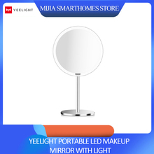 Xiaomi mijia yeelight xiaomi 똑똑한 가정을위한 가벼운 dimmable 똑똑한 운동 측정기 밤 빛을 가진 휴대용 led 메이크업 거울