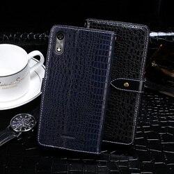 На Алиэкспресс купить чехол для смартфона for bq mobile bq-5518g jeans phone case crocodile grain magnetic shockproof flip leather case for bq-5518g jeans back cover