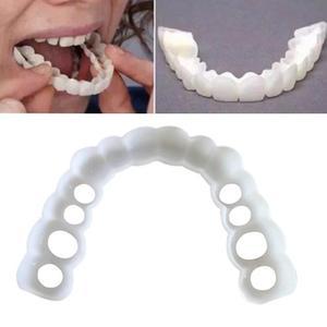Идеальная улыбка виниры набор подтяжек УЛЫБКА протез косметические зубы удобный шпон покрытие отбеливание зубов зубной протез зубы белый