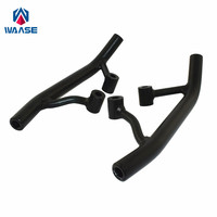 waase For Yamaha Zuma BWS YW 125 YW125 2009 2010 2011 2012 2013 2015 Rear Grab Bars Rear Seat Pillion Passenger Grab Rail Handle