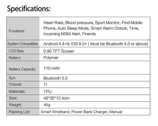 Reloj Inteligente Auriculares Bluetooth para IOS Android Teléfono Monitor de Ritmo Cardíaco Deportes Presión Arterial