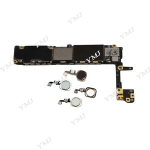 Image 3 - Pieno sbloccato per iphone 6 S 6 S Scheda Madre Con/Senza Touch ID, originale per iphone 6 S Mainboard con il Pieno di Chip, 16GB 64G 128G