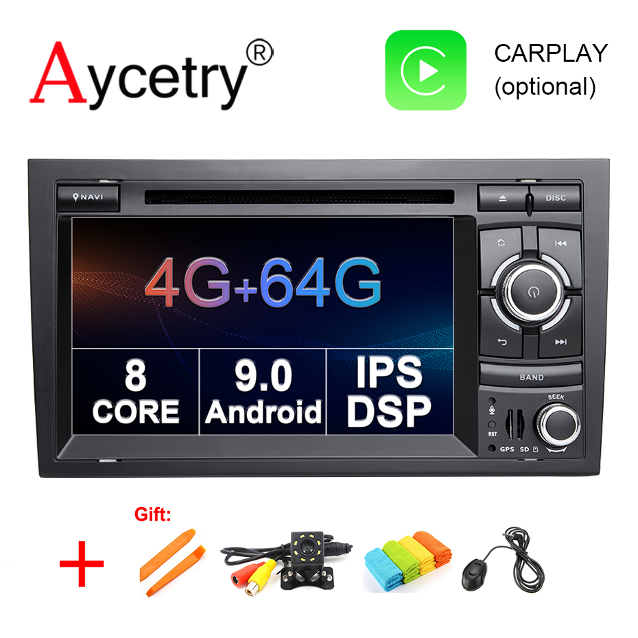 DSP IPS 4G 64G 8 CORE 2 Din Android 9 Car multimedia DVD Player GPS for
