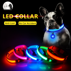 USB Charging LED Pet Dog Colla