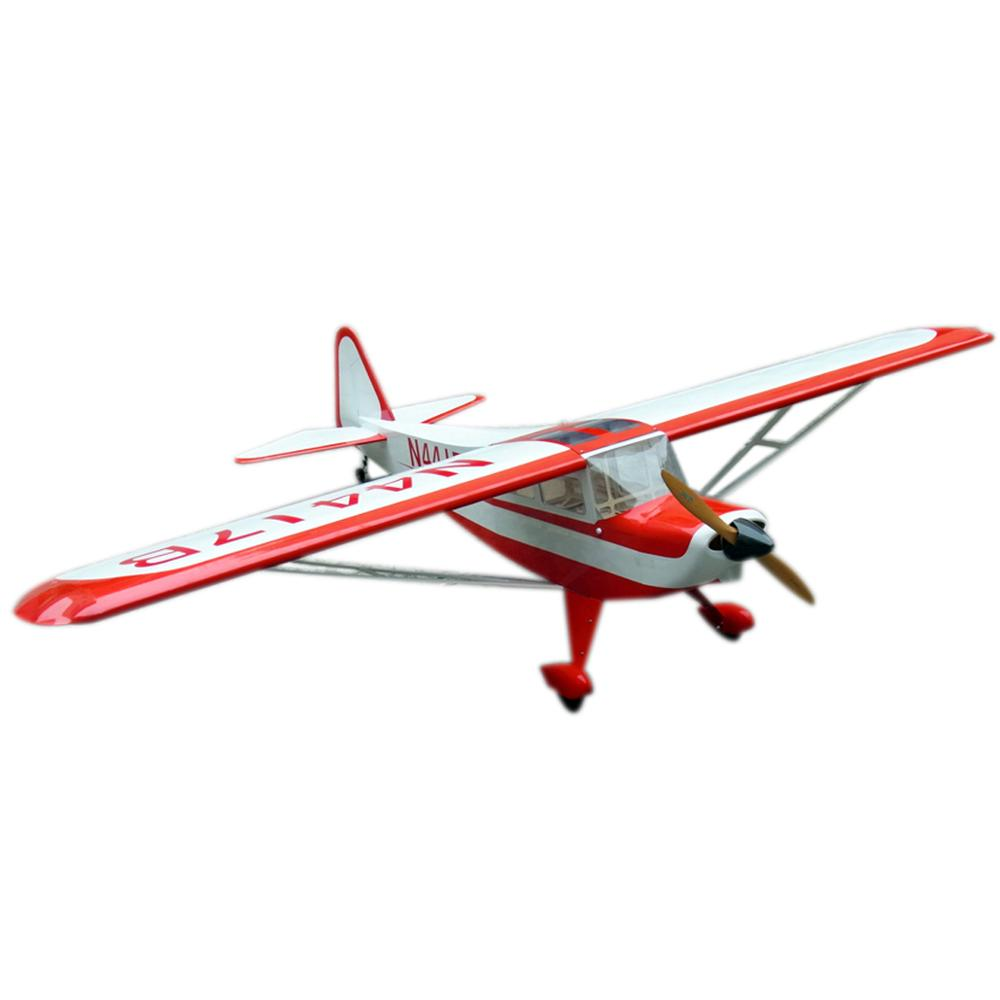 Flight Model RC Electric Airplane 6CH 87.4in/2222mm Wooden Fixed Wing Aircraft image