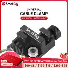 Smallrigユニバーサルケーブルクランプdlsrカメラは、ケーブルから直径 2 7 などマイクケーブル、電源ケーブルBSC2333