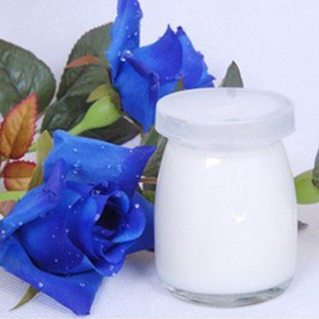 4 pièces Pudding Tasse Simple Durable Verre Jelly Pot Contenants de Yogourt Tasse de Lait pour La Maison