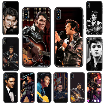 Rock Elvis Presley Kiss Phone Case Cover Hull For iphone 5 5s se 2 6 6s 7 8 12 mini plus X XS XR 11 PRO MAX black trend prime image