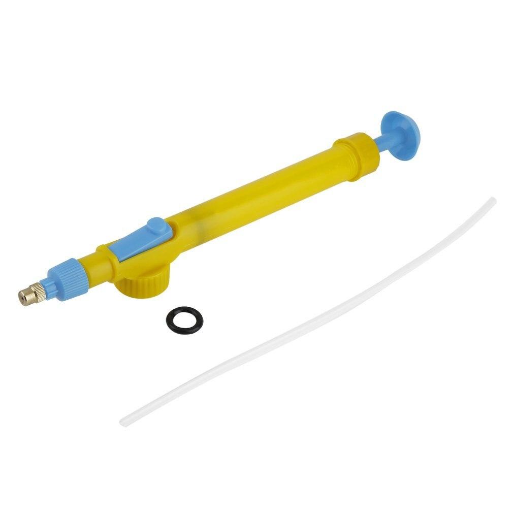 Mini Toy Guns Juice Bottles Interface Plastic Trolley Gun Sprayer Head Pressure Water Sprayer Spraying Head Gardening Supplies