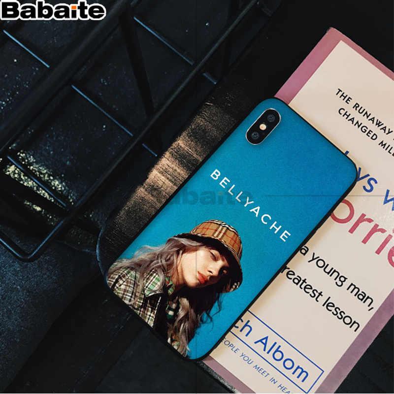 Babaite ビリー Eilish 悪者 Coque シェル電話ケース iphone 6S 6 プラス 7 7 プラス 8 8 プラス X Xs 最大 5 5S XR