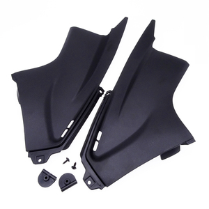 1 Pair Motorcycle Side Wings Air Dust Cover Tube Panel Fairing Insert Part For Yamaha YZFR6 YZF-R6 2003 2004 2005 Accessories