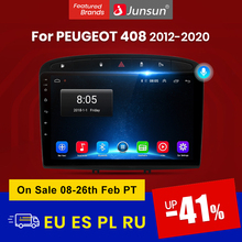 Junsun V1 pro 2G + 128G Android 10 Für PEUGEOT 308 308S 408 2012 - 2020 Auto radio Multimedia Video Player Navigation GPS 2 din dvd