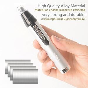 Перезаряжаемый триммер для волос в носу, электрическая машинка для стрижки волос в носу и ушах, бритва, бритва, триммер для бровей, эпиляторы, высокое качество|Триммер для носа и ушей|   | АлиЭкспресс