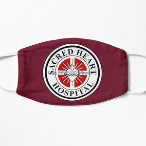 Пылезащитная маска с фильтром для святой сердца, больничная маска для лица