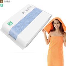 Original Youpin ZSH Bath Towel Facecloth Cotton Towel Young Beach Towel Washcloth Antibacterial Water Absorption Towels