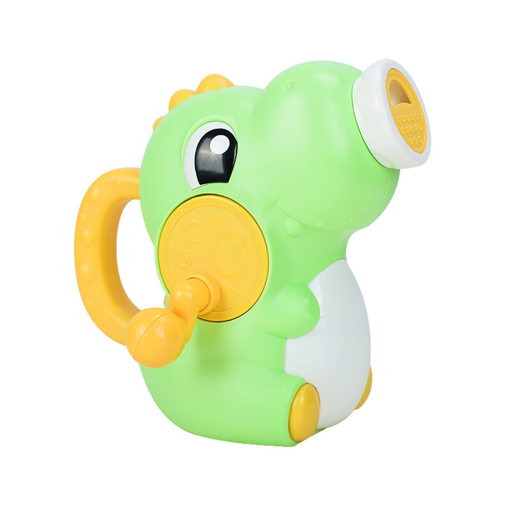 Water Squirt Baby Bath Toy Manual Shower Dinosaur Spray Water Pump Bathroom Bathtub Toys For Kids Toddlers 1~3 Year Old #C