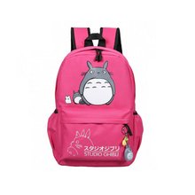 cartoon Anime Lady backpack bag my neighbor totoro anime Action figures canvas bag with Japanese hayao miyazaki