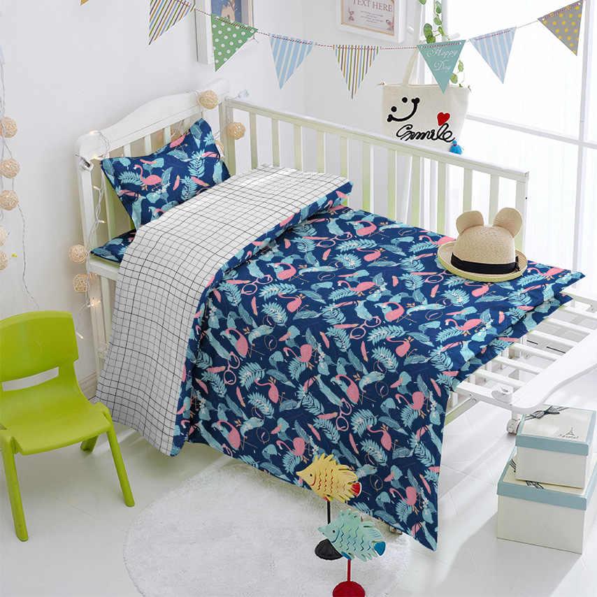 160 см * 50 см очки Фламинго хлопчатобумажная ткань комплект кровати «сделай сам» стеганое платье Лоскутная Ткань Дети ручной работы Шторы Декор ткань