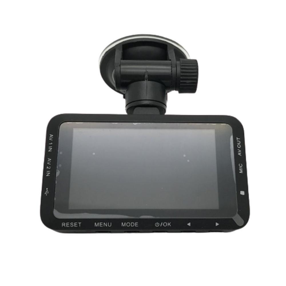 Cámara HD a prueba de agua para motocicleta, cámara de salpicadero para conducción de vídeo con lente Dual frontal y trasera para Moto, grabación FHD