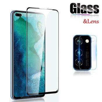 Перейти на Алиэкспресс и купить Новинка 9D закаленное стекло для Huawei Honor View 30 Pro V30 5G защита экрана полное покрытие стекло для Huawei Honor V30 защитная пленка