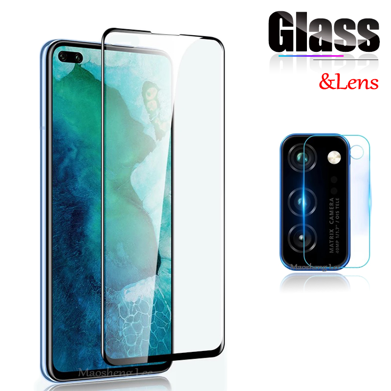 New 9D Tempered Glass For Huawei Honor View 30 Pro V30 5G Screen Protector Full Cover Glass For Huawei Honor V30 Protective film(China)