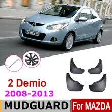 Брызговики для Mazda 2 Demio GE хэтчбек 2013-2008, брызговики, брызговики, Автомобильные Брызговики, аксессуары 2010
