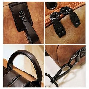 Image 4 - Moda kadınlar yüksek kaliteli deri sırt çantası çok fonksiyonlu deri sırt çantaları büyük sırt çantası seyahat çantaları okul çantaları genç kız için