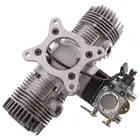 RCGF 30cc Twin Cylinder Petrol/Gasoline Engine Dual Cylinder with Muffler/Ignition/Spark plug for RC Model Airplane - 4