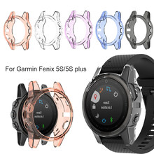 For Garmin Fenix 5 Screen Protector Soft Ultra-Slim Crystal Clear TPU Protector Case Cover Smart watch Protective accessories(China)