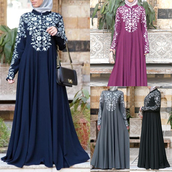 Kimono abayas de bangladesh para mujer burka vestido estampado árabe festa dubai abaya kaftan turco ropa islámica musulmana vestido de mujer