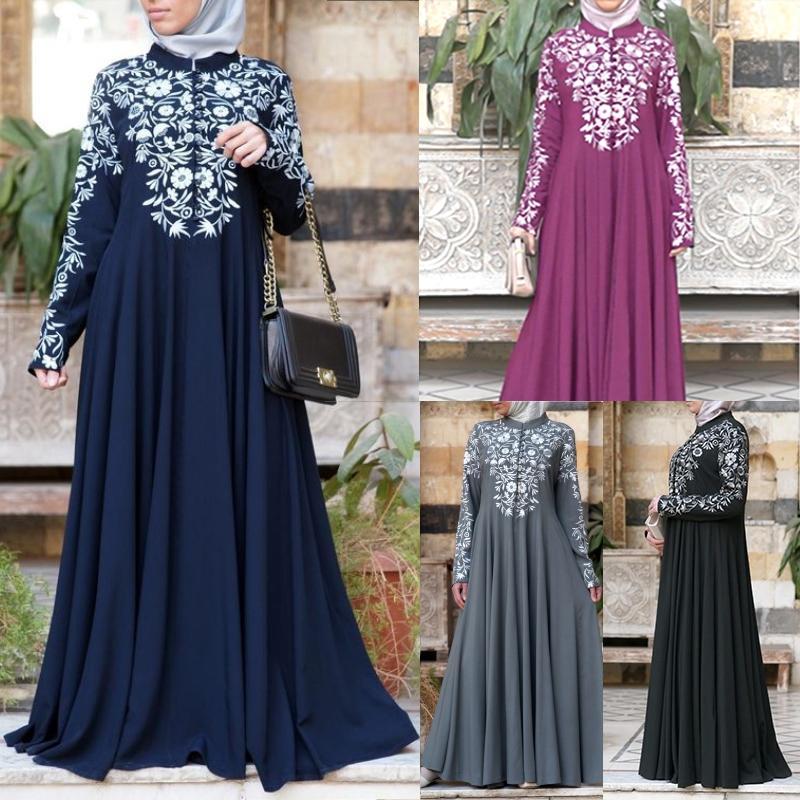 Bangladesh Abayas Kimono For Women Burka Arabic Print Dress Festa Dubai Abaya Turkish Kaftan Islamic Clothing Muslim Dress Women
