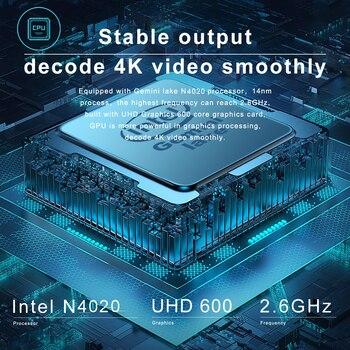 CHUWI HeroBook Pro 14.1Inch Laptop Intel Gemini lake N4020 Dual core 8GB RAM 256GB SSD Windows 10 computer Full Layout Keyboard 2