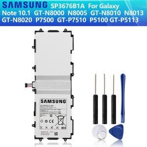 SAMSUNG Battery N8010 GT-N8000 P7510 SP3676B1A Note 10.1 P5113 Galaxy 7000mah Original