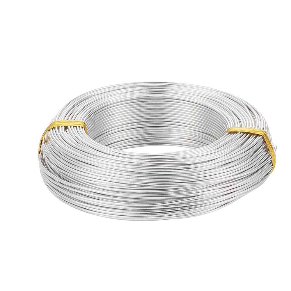 Fio de alumínio 2mm 0.8mm 1mm 1.2mm 1.5mm 2mm 2.5mm 3mm 3.5mm 4mm para design de joias fazendo diy
