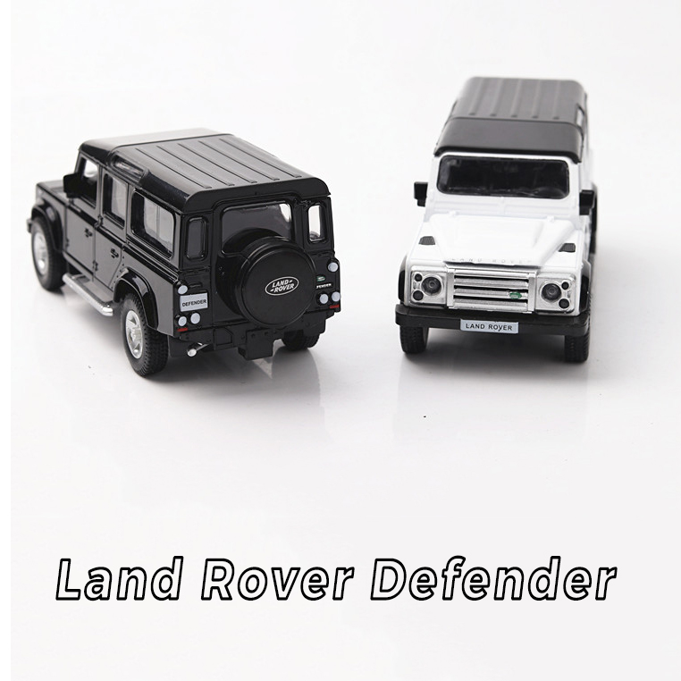 Hot 1:36 Wheels Scale Simulation Diecast Cars Land Defender Rovers Metal Model Pull Back Alloy Toys Collection For Kids Gifts