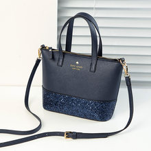 Europeu e americano moda tote bags para mulheres glitter cruz corpo bolsas de ombro superior qualidade luxo bolsa e bolsas