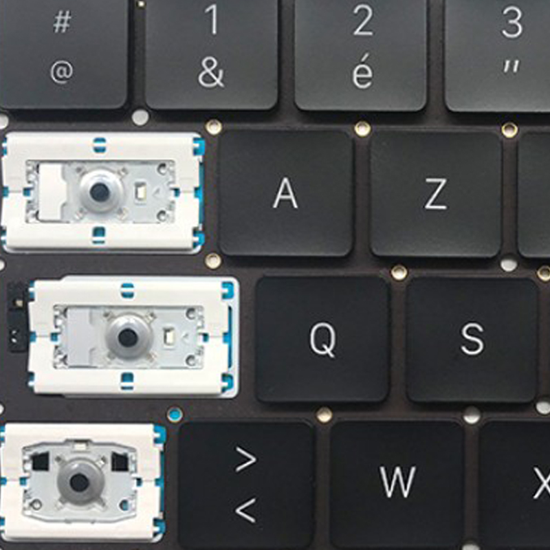 New A1706 Keycap With Butterfly Clip For MacBook Pro 13